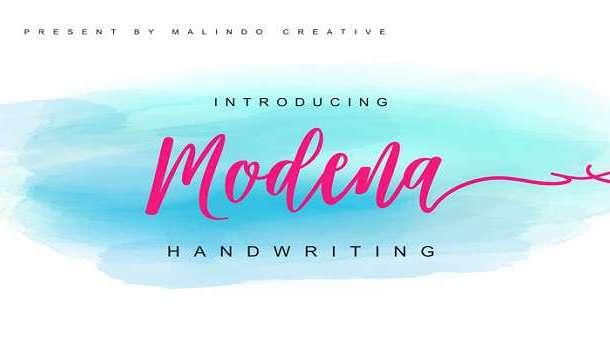 Modena Font