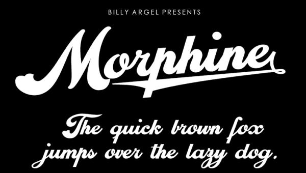 Morphine Font