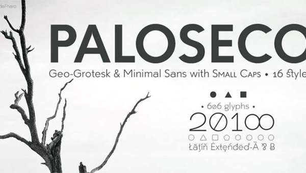 Paloseco Font Family