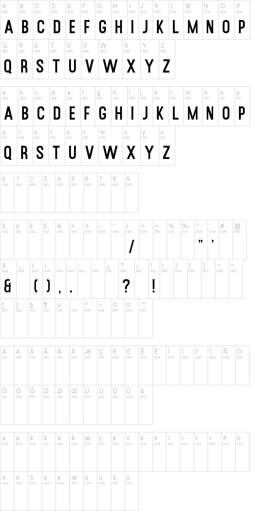 Rusted Orlando Sans Font-1