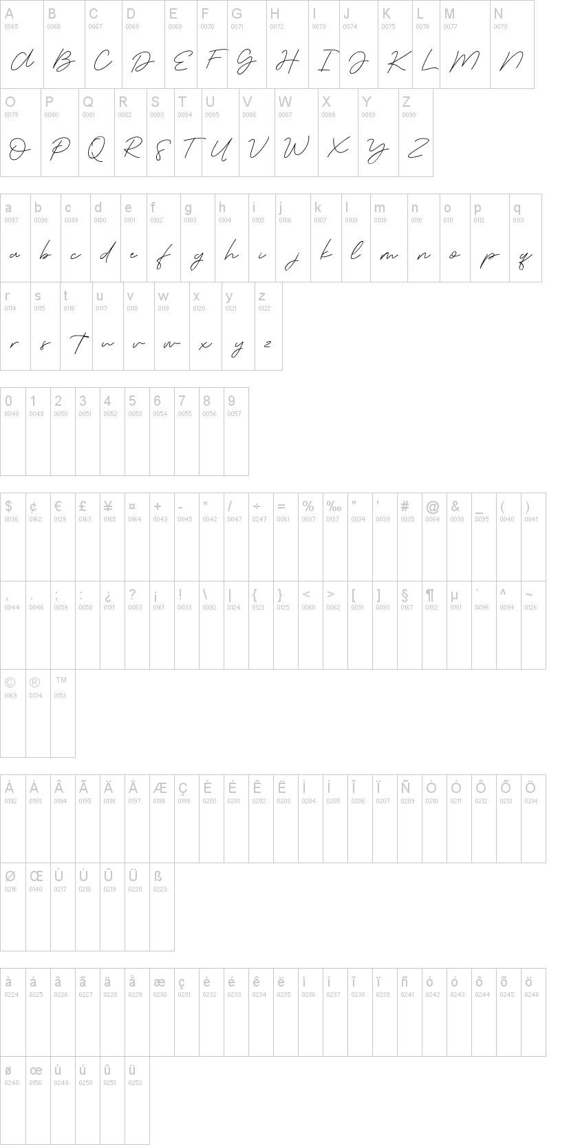 Serenity Font-1