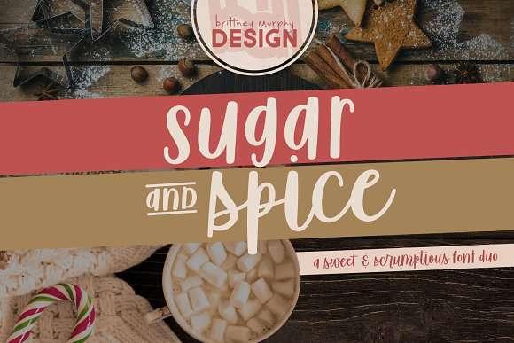Sugar & Spice Hand Sans