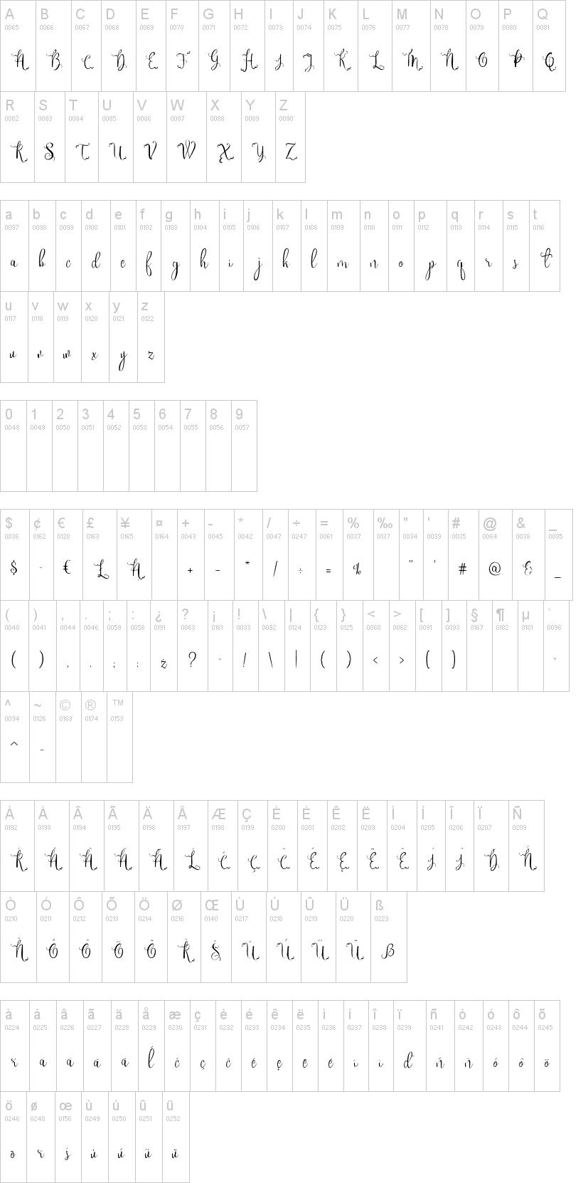 Sweet Gentle Font-1