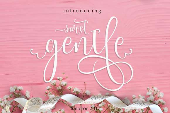 Sweet Gentle Font