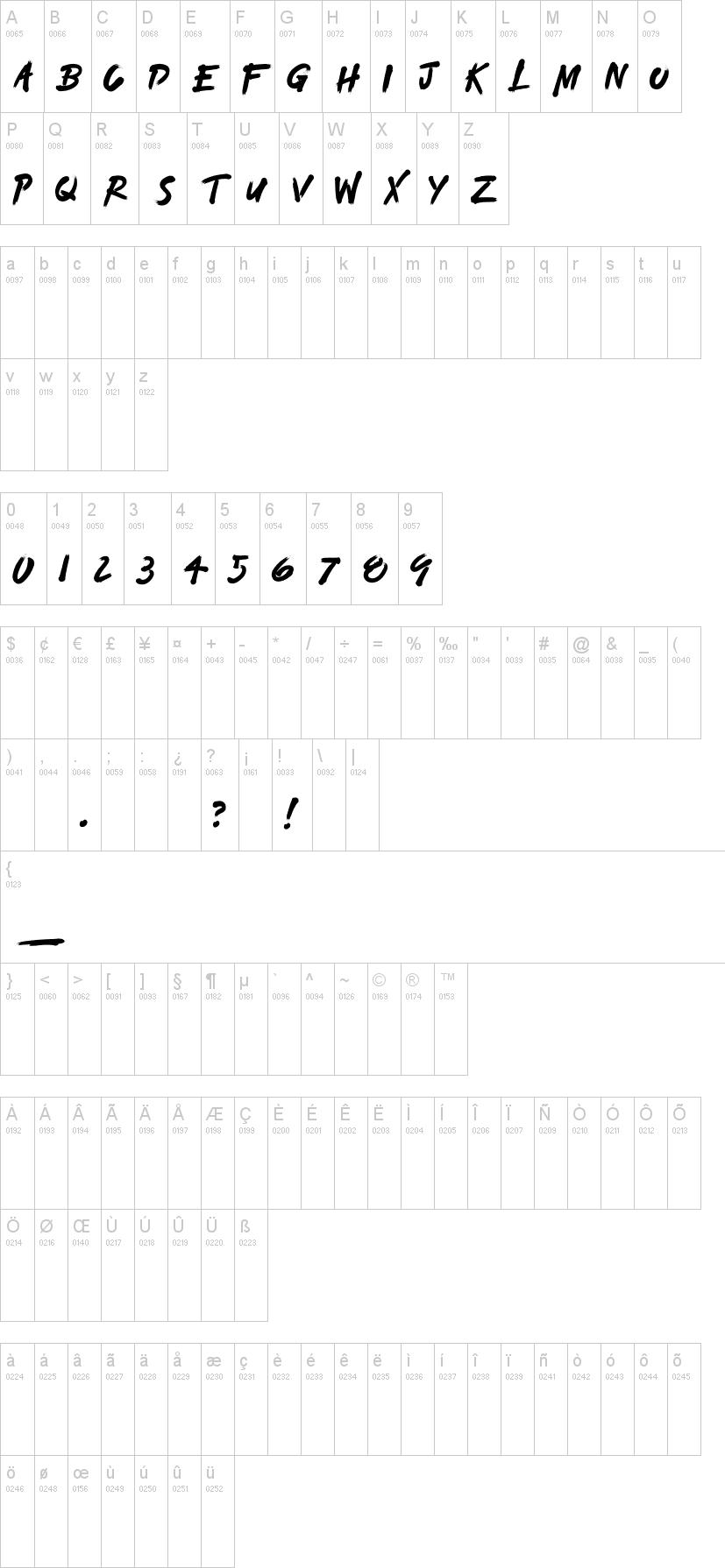 Toda Font-1