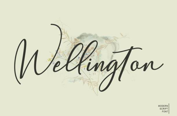 Wellington Font