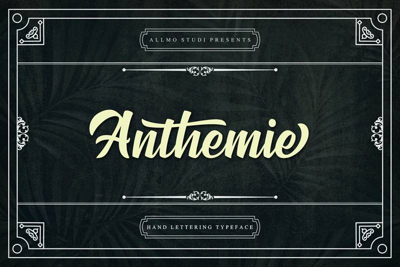 Anthemie Font