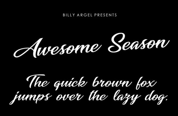 Awesome Season Font