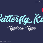 Butterfly Kiss Font