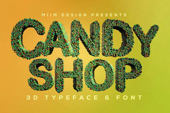 Candyshop Font
