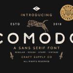 Comodo Font Family