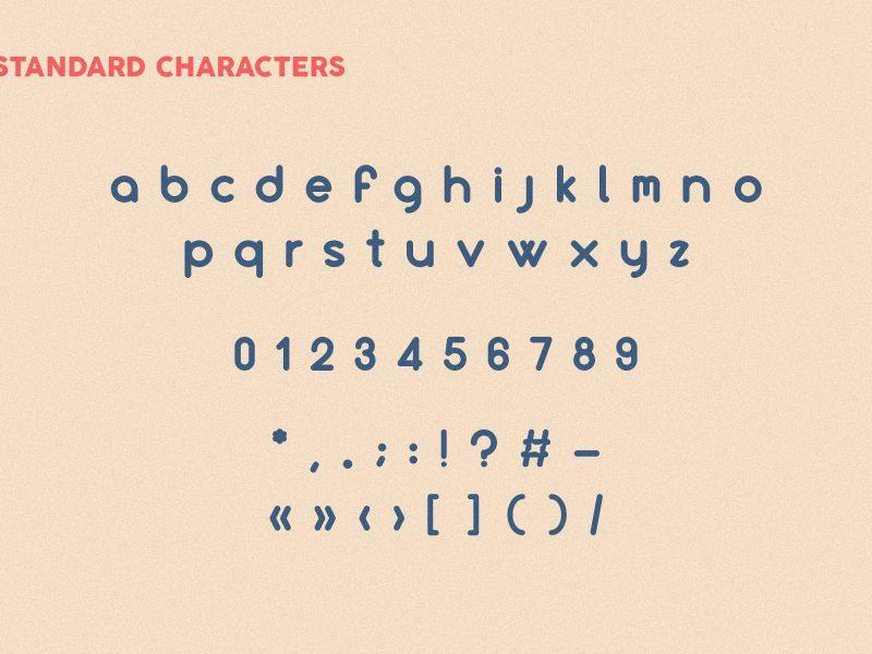 Culonite Font Family-1