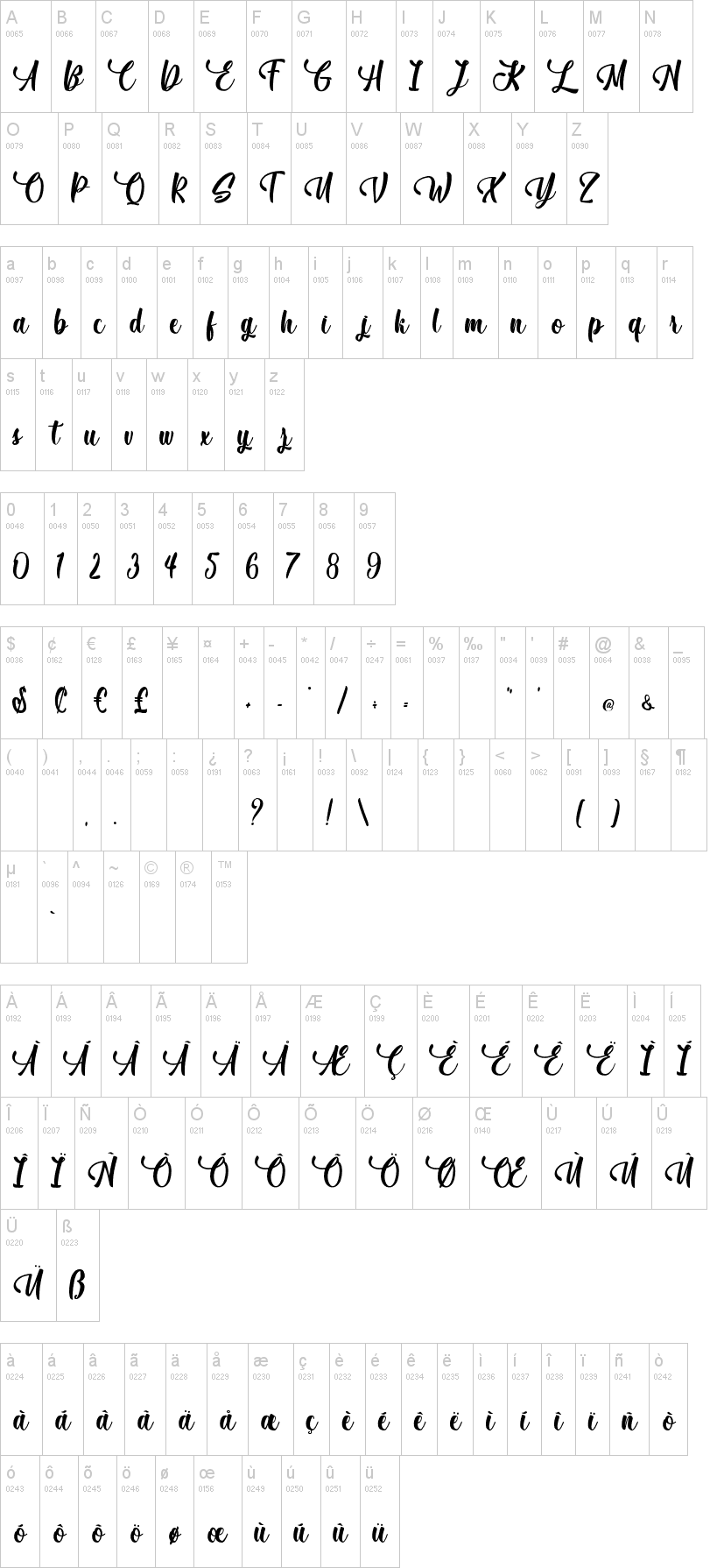 December Pastel Font-1