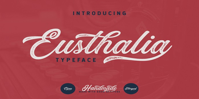 Eusthalia Clean Font