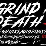 Grind And Death Font