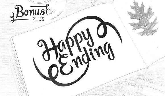 Happy Ending Font