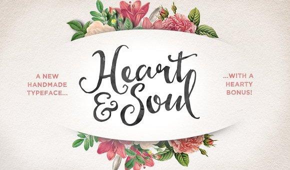 Hearty Script Font