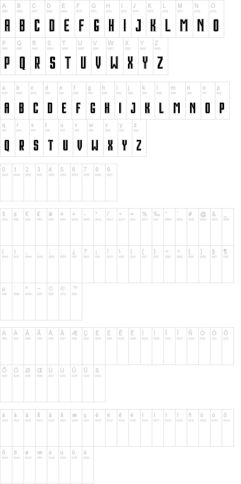 Houston font-1