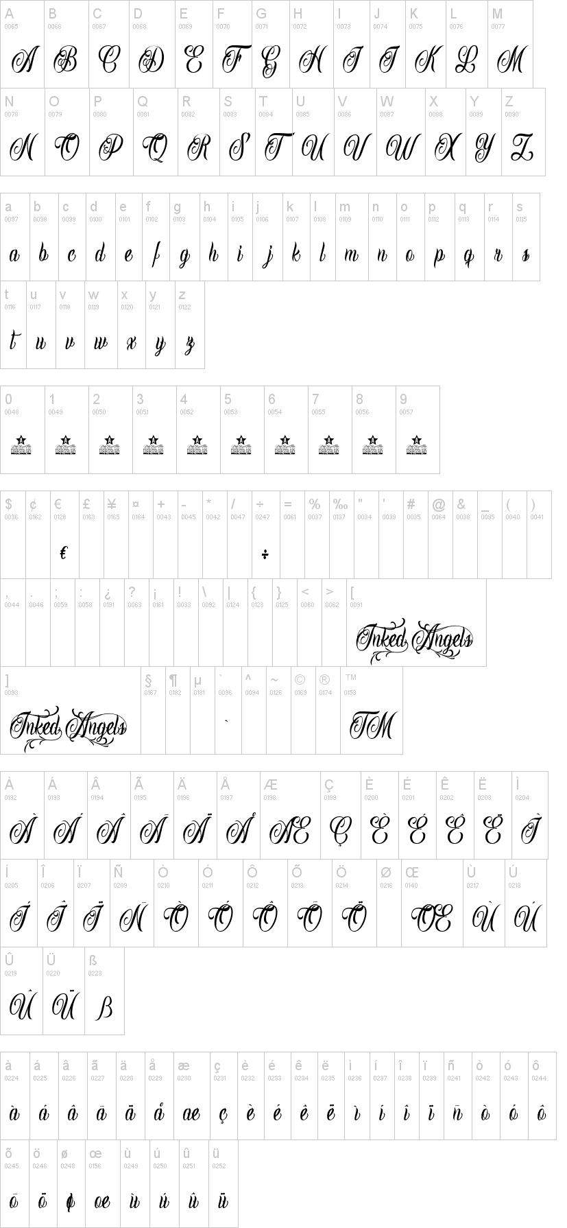 Inked Angels Font-1