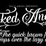 Inked Angels Font