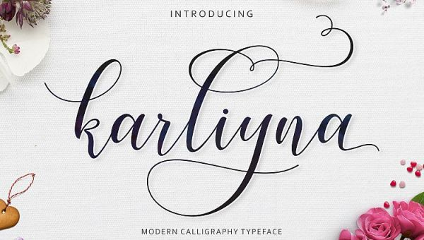 Karliyna Script Font