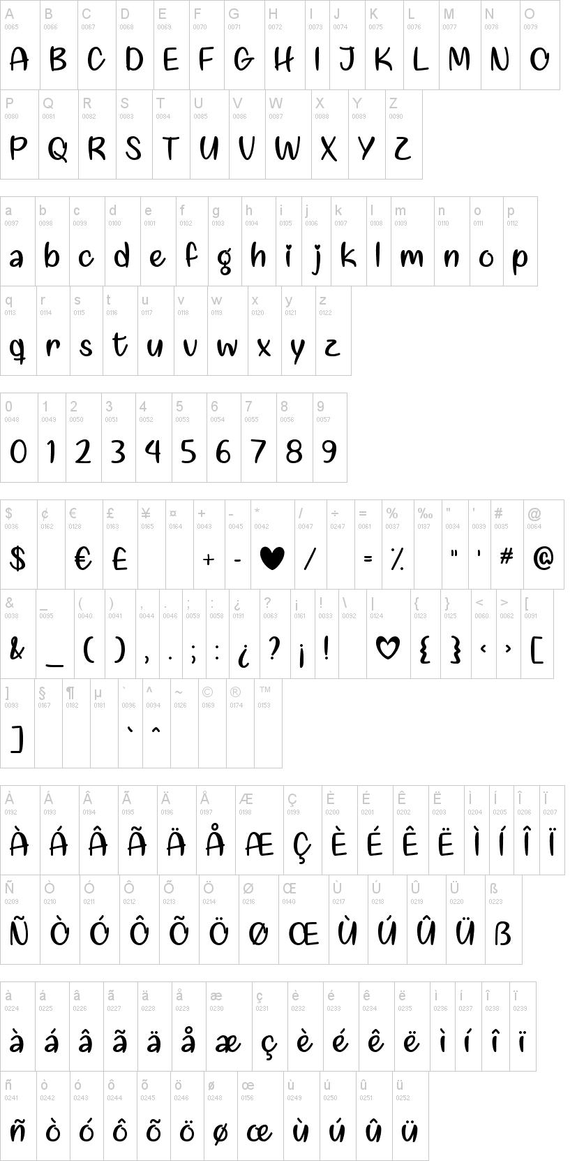 Liebe finden Font-1