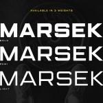 Marsek Sans Serif Font