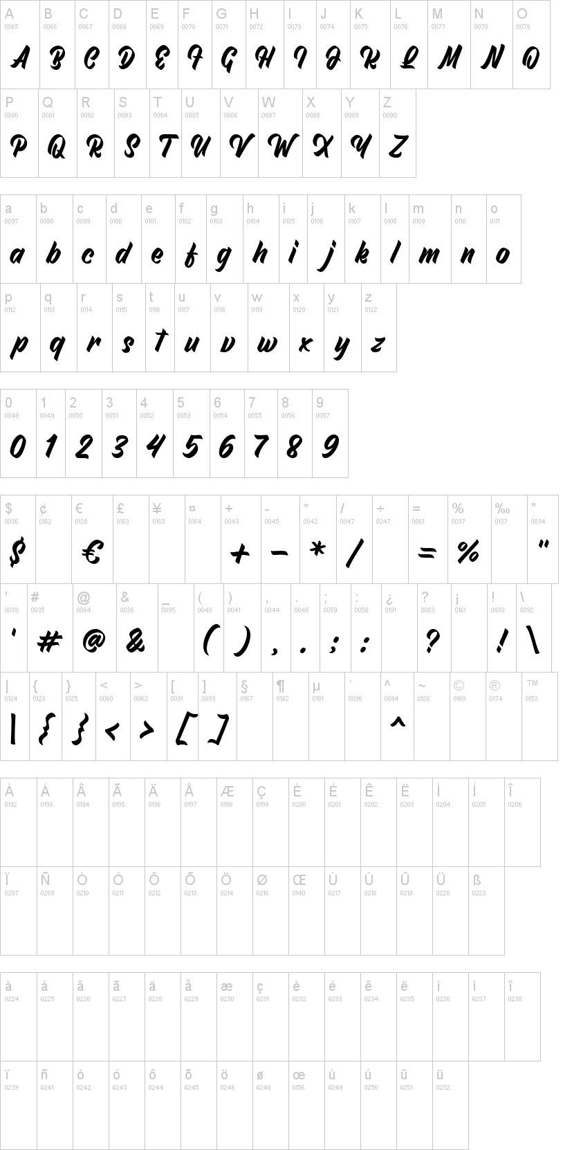 North Roksy font-1