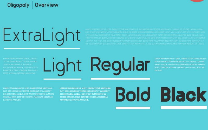 Oligopoly Typeface-1