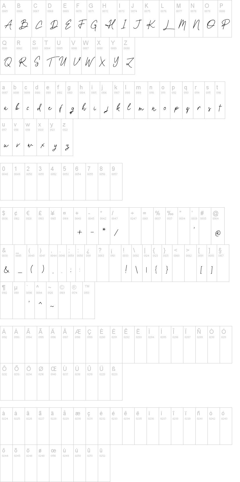 Oxlade Font-1