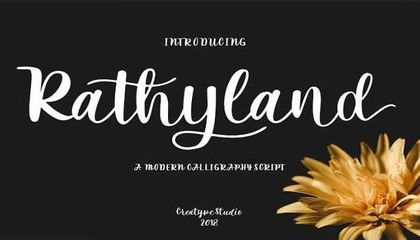 Rathyland Font