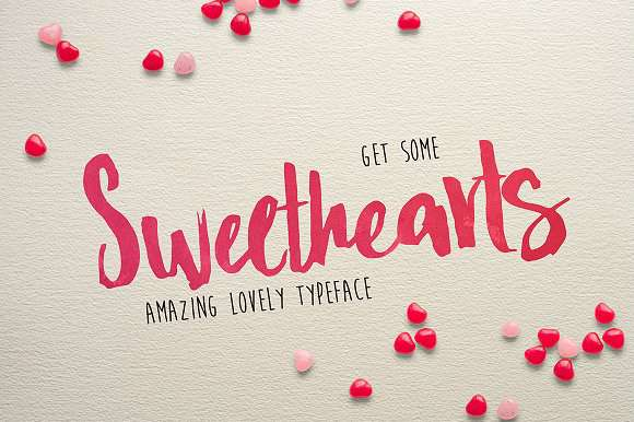 Sweat Hearts BV Font
