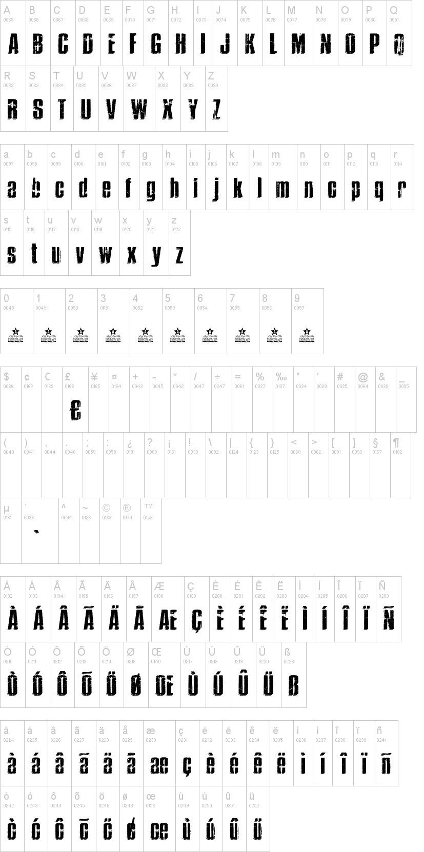 Thrasher Font-1