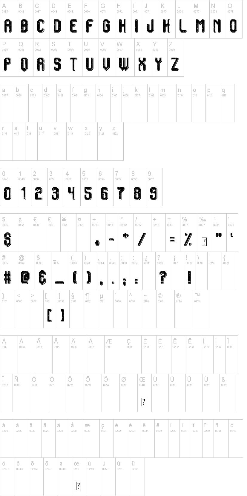 Vintage Warehouse Font-1
