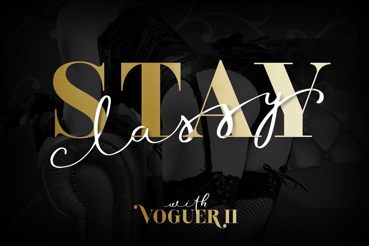 Voguer II Font-3