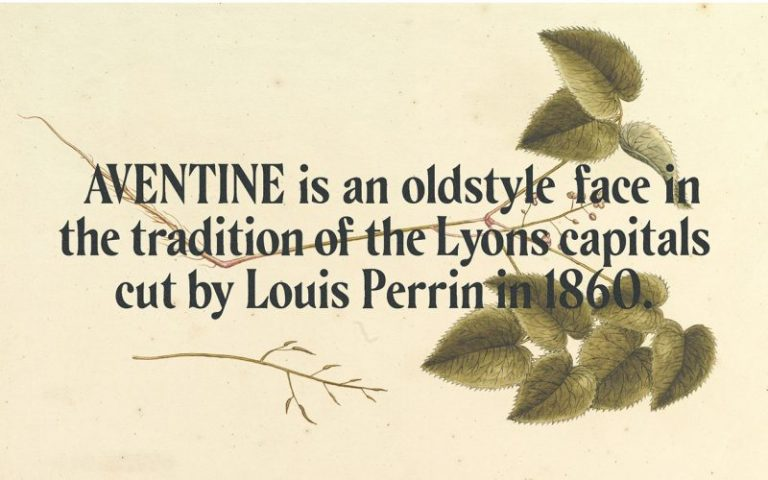 AVENTINE Oldstyle Typeface-1