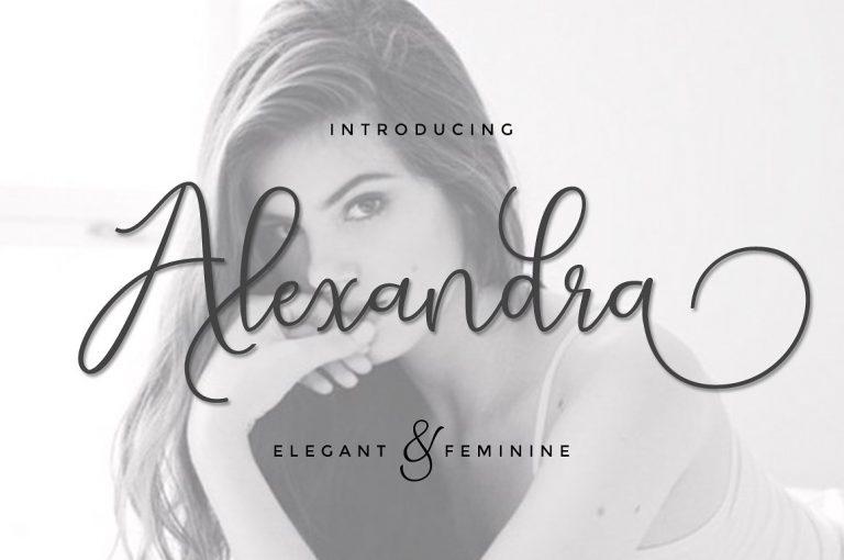 Alexandra Script Font