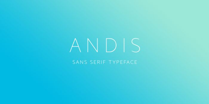 Andis Font Family