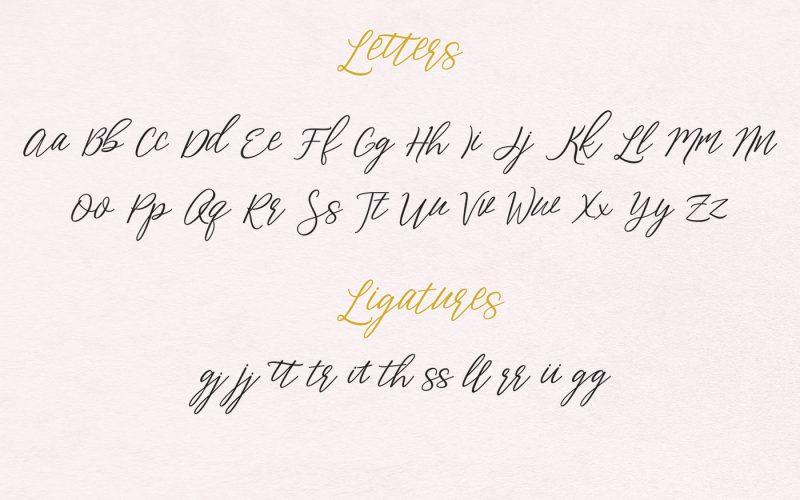 Aperto Script Font-1