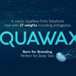 Aquawax Pro Font Family