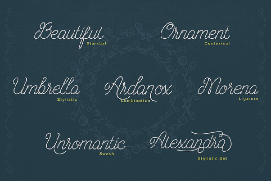 Ariana Script Font-1