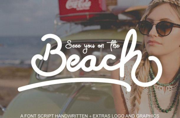 Beach Font