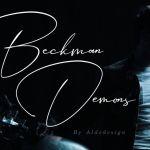 Beckman Demons Signature Font