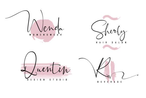 Black Pink Signature Font-1