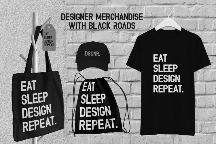 Black Roads Typeface-2
