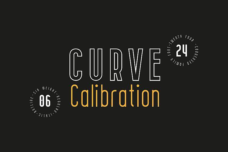 CURVE Calibration Typeface