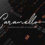 Caramello Handwritting Font