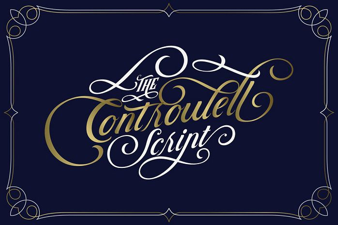 Controwell Victorian Typeface-2
