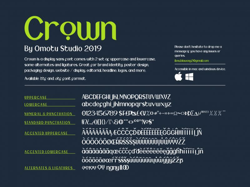 Crown Typeface-2