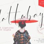 Dattebayo Signature Font